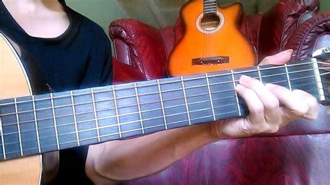 not lagu maudy ayunda intro gitar perahu kertas tutorial