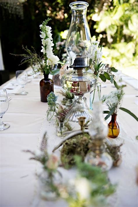 bohemian hawaiian wedding lantern centerpiece wedding