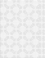 Hopscotch Quilting Coloring Quilt sketch template