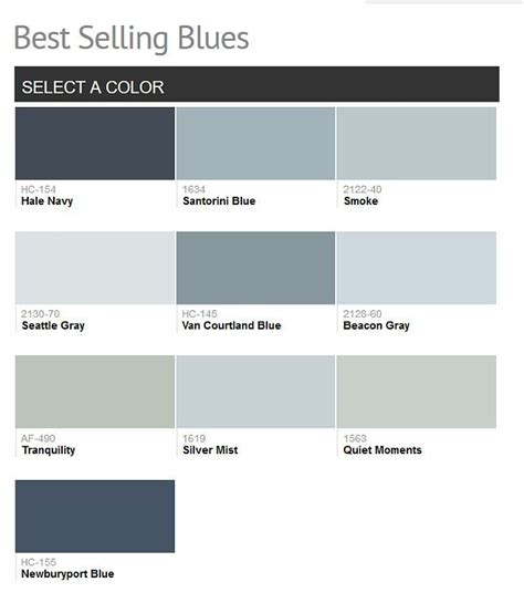 Benjamin Moore Blue Grey Glamorous Best 25+ Blue Gray