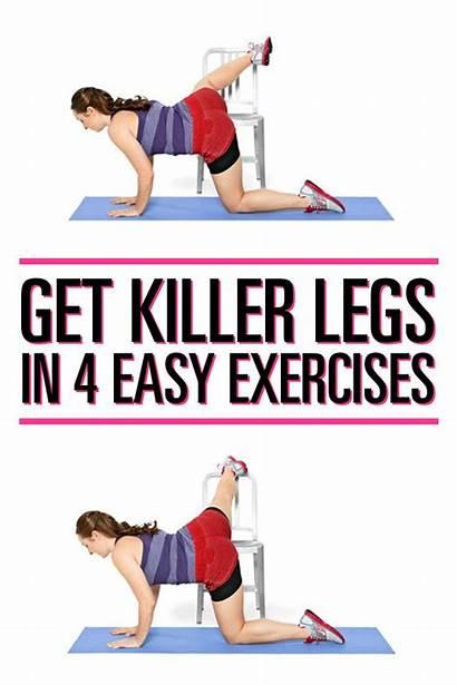 Leg Easy Exercises Workout Workouts Killer Fitness