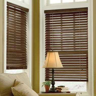 linden street  distressed wood blinds jcpenney