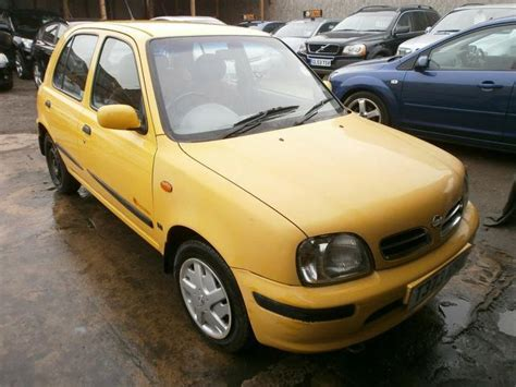 nissan yellow used nissan micra 2003 petrol 1 3 equation 5dr hatchback