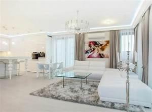 Appartement Moderne Au Design Pur En Blanc Varsovie
