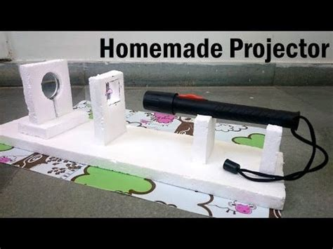 projector  home youtube homemade
