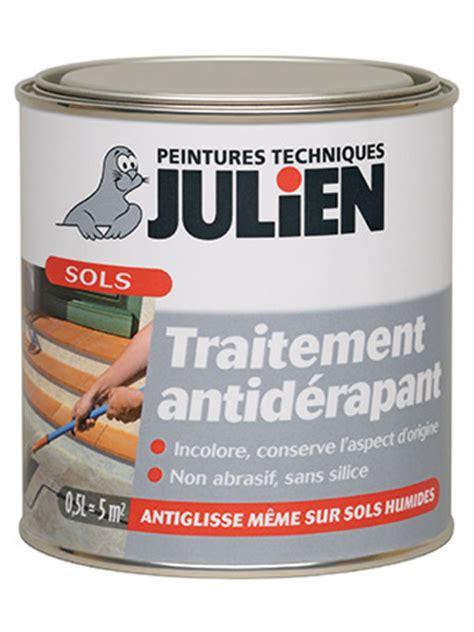 traitement antiderapant peintures julien