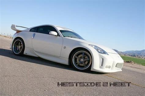 white nissan 350z modified nissan 350z white modified www pixshark com images