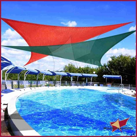 pool shade canopy sun shade sail fabric outdoor canopy patio pool awning