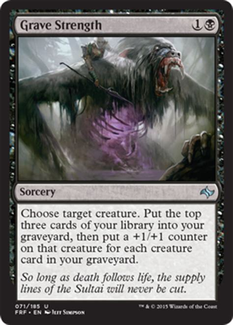 sealed deck generator fate reforged grave strength