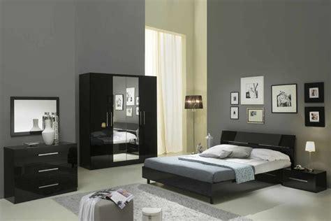 chambres à coucher but mina laque noir ensemble chambre coucher inspirations et