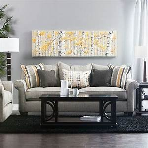 Bailey sofa loveseat jerome39s furniture living for Sectional sofa jeromes