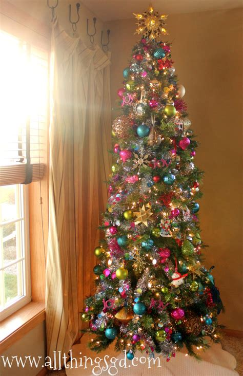 colorful christmas tree all things g d christmas