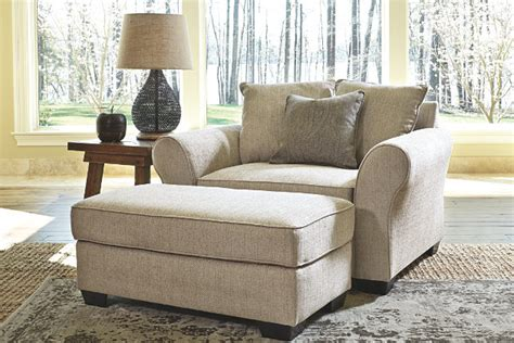 oversized chair and ottoman baxley oversized chair furniture homestore