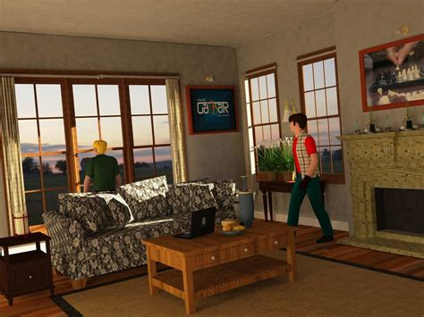 Living Room Exercises by 3d Exercise Living Room In The Afternoon By Kokorachman On