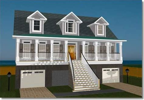 elevated house plans  flood zones elevated home plans designs elevated coastal home plans