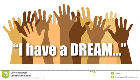 Saying Clipart I Have A Dream