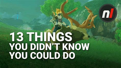 13 Things You Didn't Know You Could Do In The Legend Of