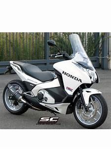Honda Nc 700 : oval silencer slip on sc project for honda nc 750 s nc ~ Melissatoandfro.com Idées de Décoration