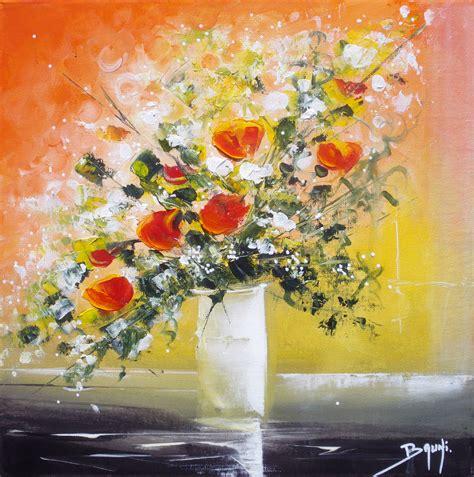 peinture quot bouquet de fleurs quot de bruni artiste peintre galerie de l artiste peintre bruni eric