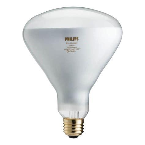 philips 65 watt equivalent halogen br40 flood light bulb