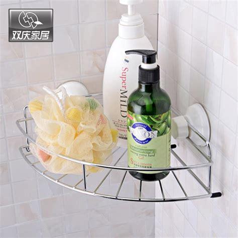 vacuum suction cup bathroom shelf soap dish shampoo cup