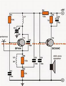 Simple Fm Radio Circuit Using A Single Transistor