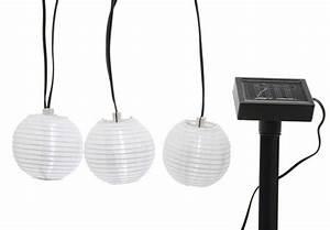 Solar Lichterkette Lampions : led solar lichterkette 10 lampions laternen garten party wei kaufen ~ Whattoseeinmadrid.com Haus und Dekorationen