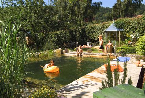 Schwimmteichnaturpool Gartengestaltunggartenbau