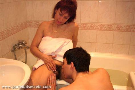 Big Tits Russian Mature Amalia Fucks A Young Man In The