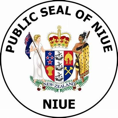 Niue Seal Svg Flag Armoiries Emblem Asycuda