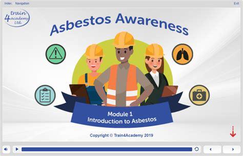 asbestos awareness training  rospa approved iatp