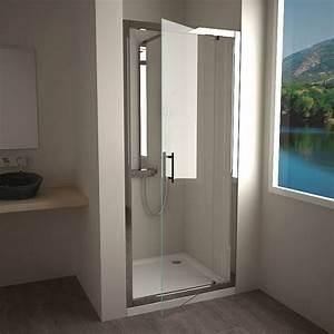 la douche masalledebaincom With porte de douche coulissante avec salle de bain luminaire