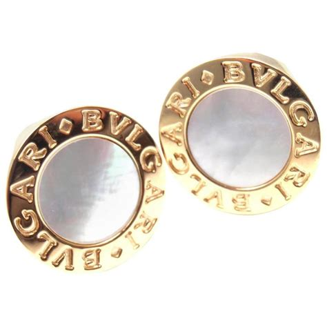 bvlgari bulgari tubogas 18k yellow gold black onyx band ring size bulgari of pearl yellow gold cufflinks for sale at