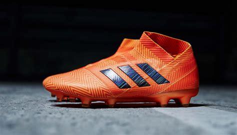 electric collar adidas launch the nemeziz 18 quot energy mode quot soccerbible