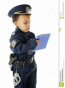 Ticket Writing Cop Stock Images