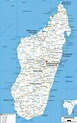 Detailed Clear Large Road Map of Madagascar - Ezilon Maps
