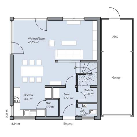 Haus Grundriss Modern by Hausgalerie Detailansicht Baumeister Haus 174 Kooperation E V