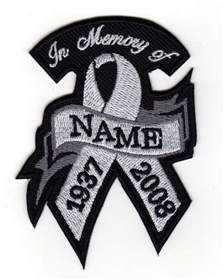 Custom in Memory Patches Biker