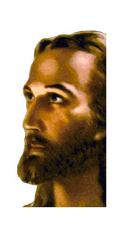 Jesus Face Christ Transparent Lord Salvation Christianity