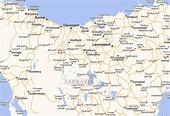 Launceston Map