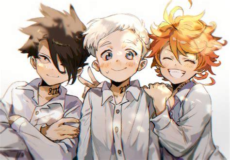 yakusoku  neverland chan dowload anime wallpaper hd