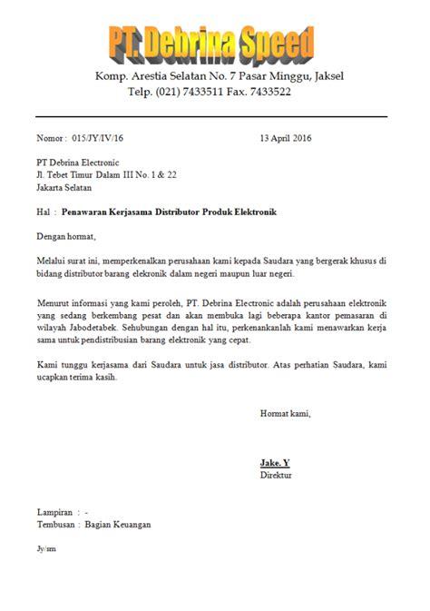 Contoh Surat Tugas Termasuk Ke Dalam Benruk Surat by Laporan Bisnis Dan Contoh Surat Penawaran Yellowreddk