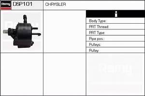 Pompe A Eau Chrysler Voyager 2 5 Td : pompe de direction assist e pour chrysler voyager iii gs 2 5 td 116cv wda ~ Gottalentnigeria.com Avis de Voitures