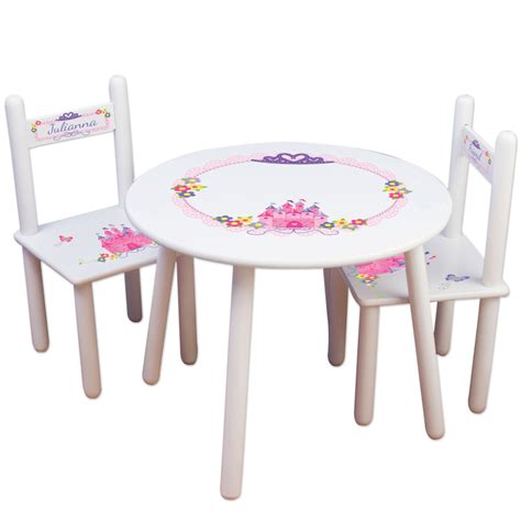 princess table and chair set girls princess table chair set frozen kids furniture