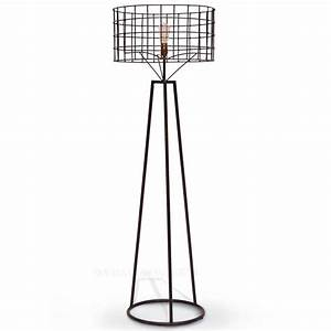industrial cage floor lamp my style pinterest With caged chandelier floor lamp