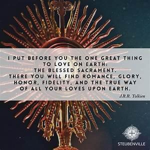17 Best images ... Sacrament Quotes