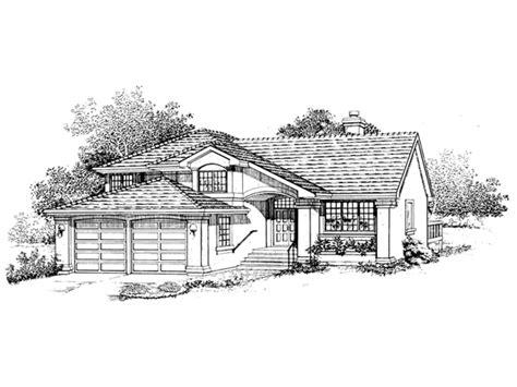 el quito spanish home plan   house plans