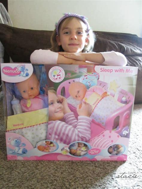 nenuco sleep   baby doll cradle review simply stacie