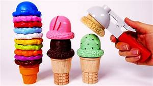 Learn Colors with Yummy Ice Cream Playset for Children ...