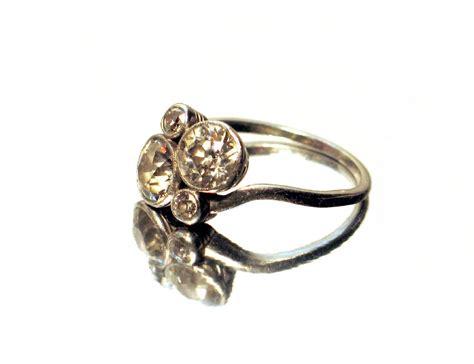 plain antique engagement rings antique style engagement